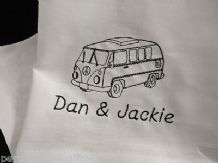 Personalised Campervan Tea towel